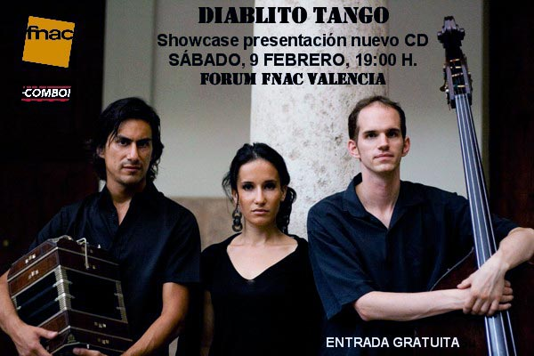 Diablito Tango, presentación en la FNAC (Valencia)