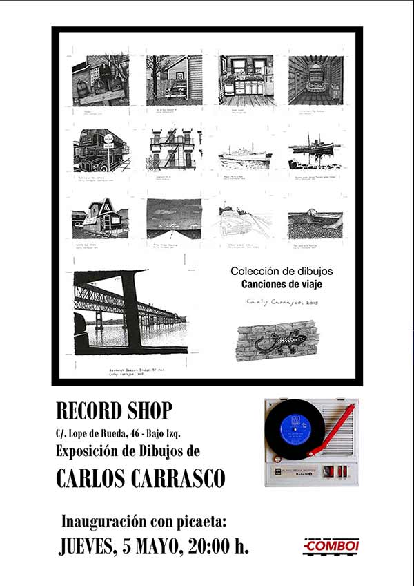 Exposición dibujos Carlos Carrasco