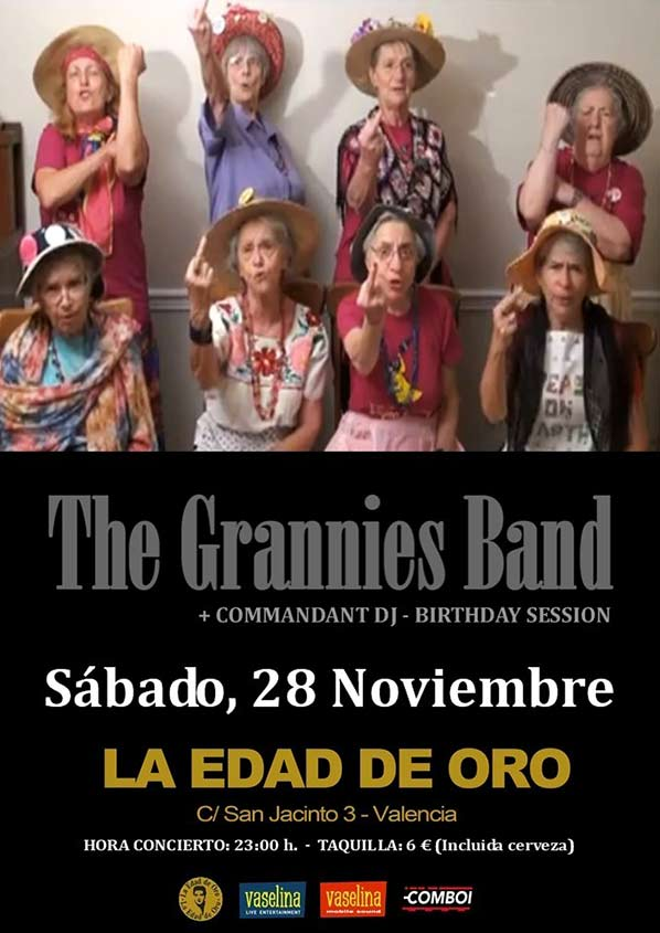 The Grannies Band Concierto