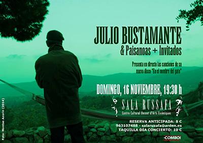 Julio Bustamante Concierto sala russafa