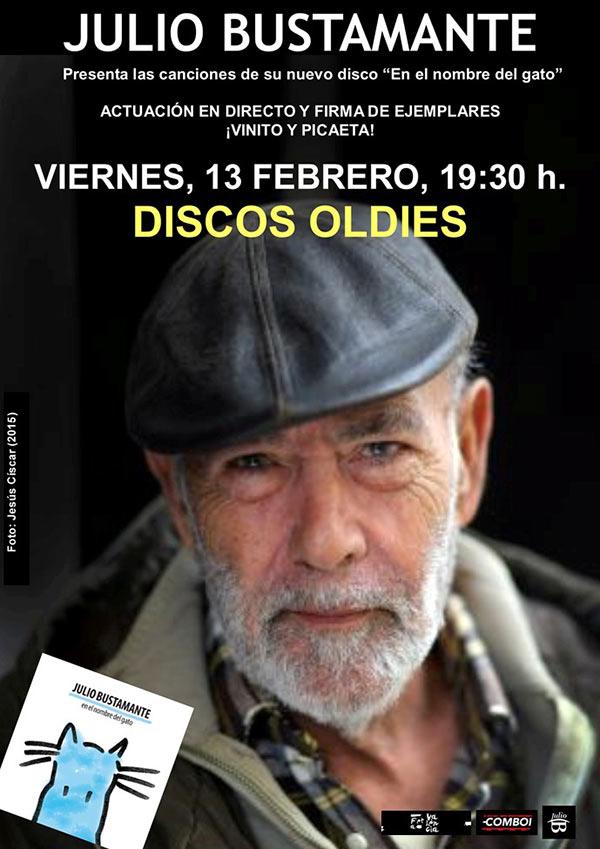 Julio Bustamante Concierto Oldies