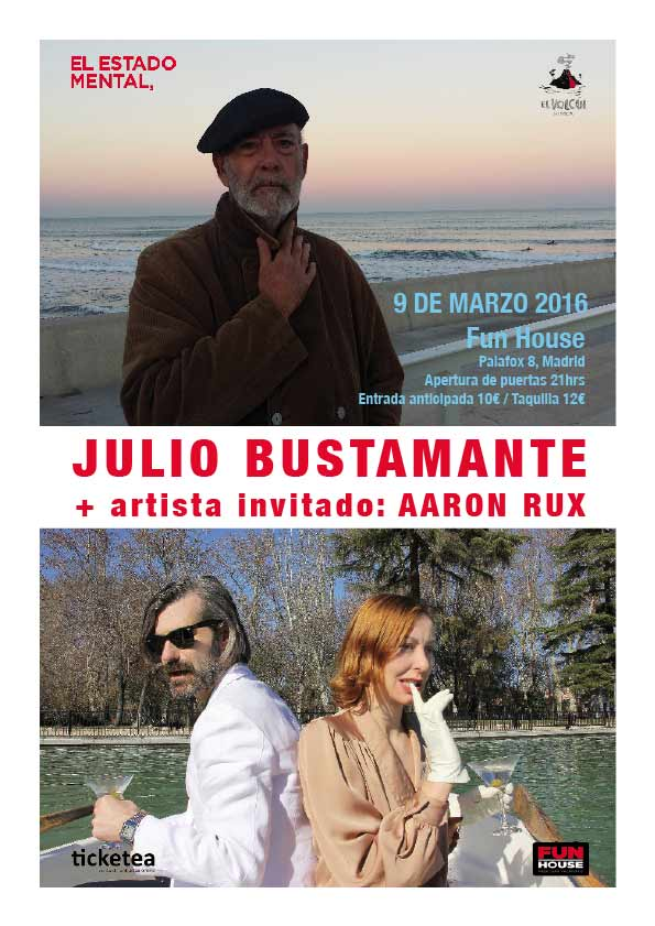 Julio Bustamante concierto Madrid