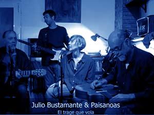 Julio Bustamante vídeo El trage que Vola