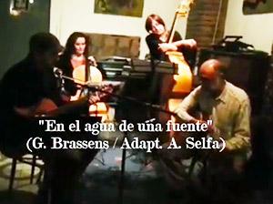 Antonio Selfa Cuarteto Brassens