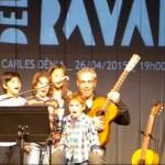 Carles Dénia jerigonzas en família