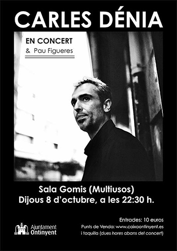 Carles Dénia concert Ontinyent