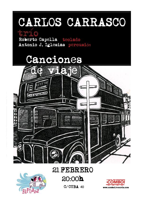 Carlos Carrasco Concierto Biplaza