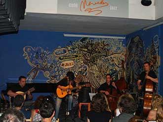 Eva Dénia Trad Quartet, Café Mercedes junio 2010