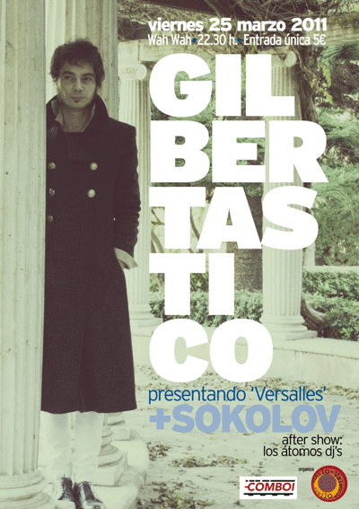 Presentación disco Gilberstático en sala Wah Wah