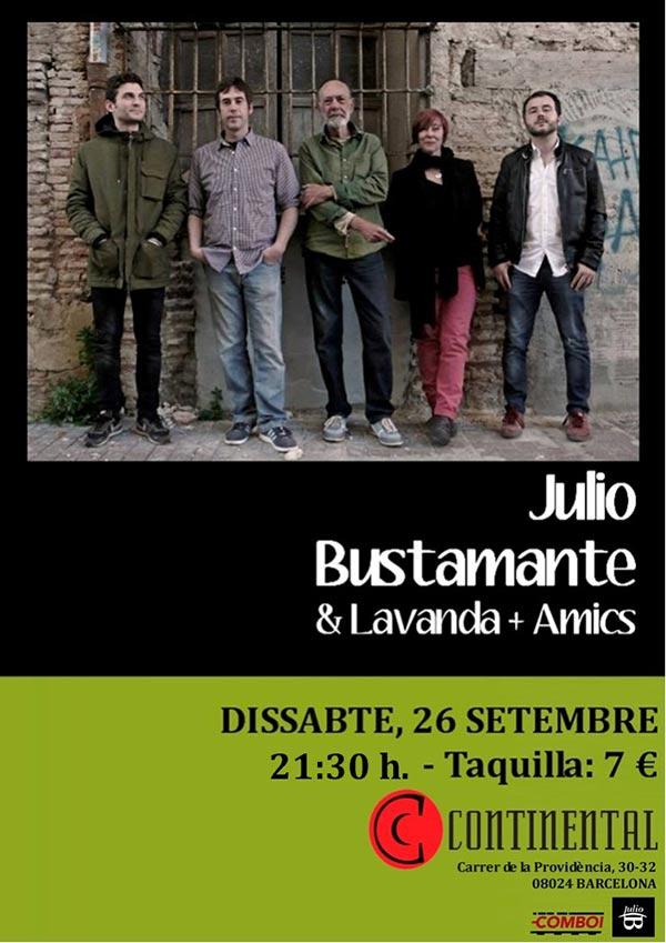 Julio Bustamante concert Barcelona