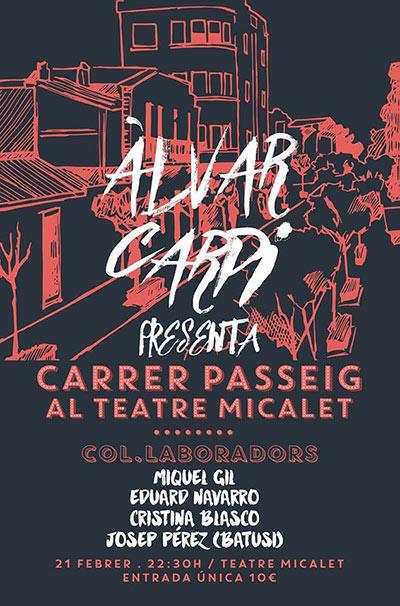 Álvar Carpi presenta disc Teatre Micalet