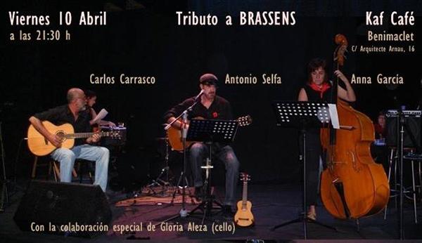 Antonio Selfa Tributo Brassens