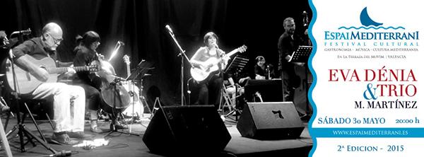 Eva Dénia Trio concert Espai Mediterrani