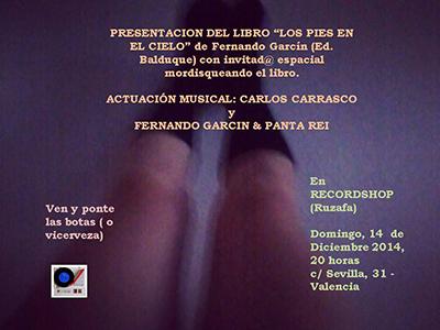 Fernando Garcín presenta libro + concierto