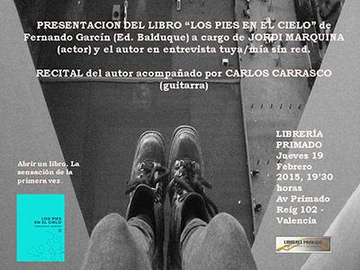Fernando Garcín presenta libro