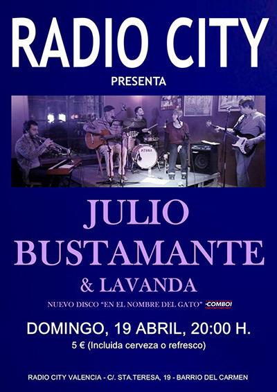 Julio Bustamante Concierto Radio City