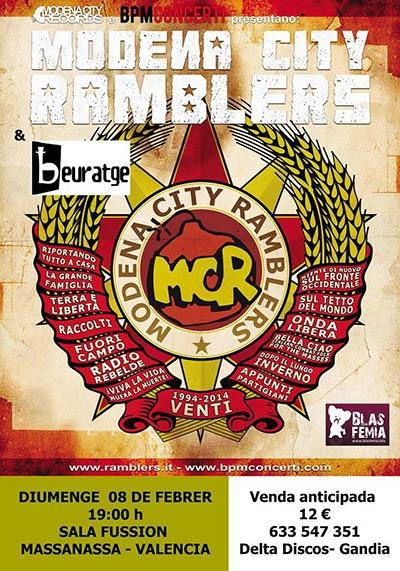 Modena City Ramblers + Beuratge Concert
