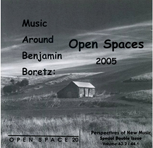 Open Space Benjamin Boretz