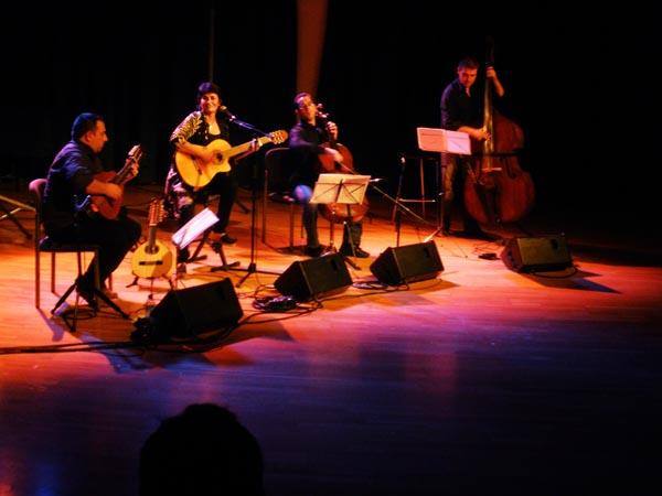 Eva Dénia Trad Quartet. Auditori Mestre Blanch, Manresa. Noviembre 2010